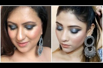 Saima Shy Styles inspired Swiss Beauty One Brand Makeup Tutorial / Affordable Makeup India / Smokey