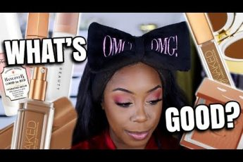 TESTING NEW MAKEUP FOR 8 HOURS! | NEW FENTY BEAUTY, URBAN DECAY, TOO FACED + MORE! | Andrea Renee