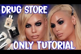 ?sizzling smokey eyes using my drugstore makeup favs – drug store makeup tutorial | Bailey Sarian