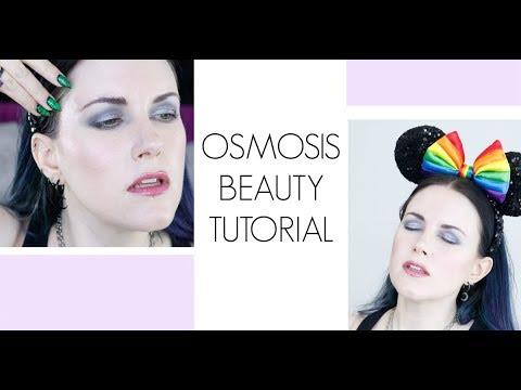 Minimalist Makeup: Soft Grey & Violet Osmosis Beauty Makeup Tutorial