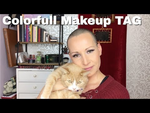 COLORFUL MAKEUP TAG || Created by Anya || Over 40 | Mature skin