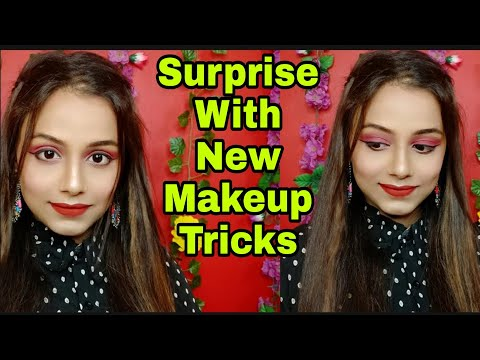 One Brand Makeup Tricks & Tutorial Stay Quirky || Neha Beauty Hub