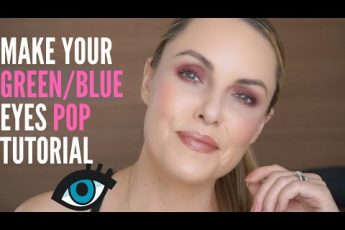 MAKE YOUR GREEN OR BLUES EYES POP || Colorful & All Cream Tutorial
