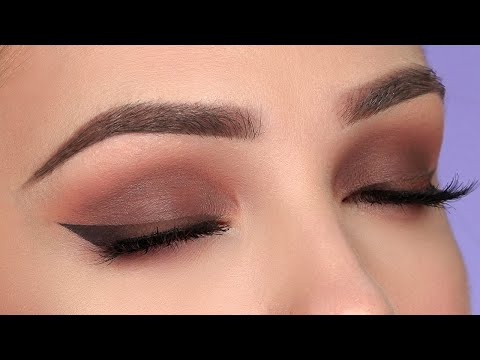 CHOCOLATE Brown Smokey Eye Makeup Tutorial