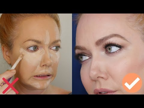 Over 35?  40?  | Stop Doing Your Concealer Like A YouTuber – Tips from a Pro MUA