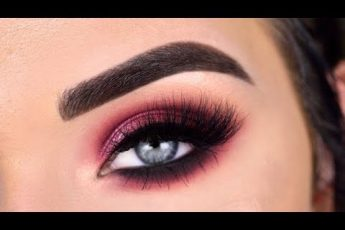 Berry Smokey Eye Makeup Tutorial | Natasha Denona Sunrise Eyeshadow Palette