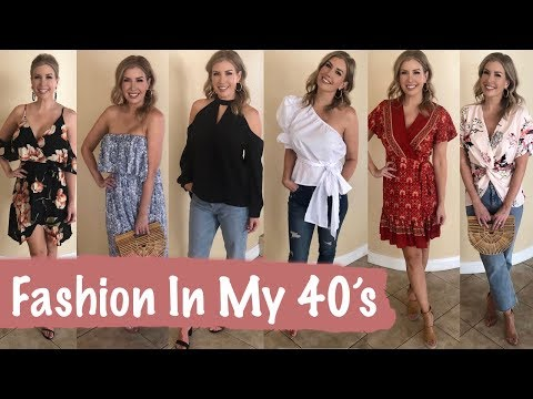 FASHION OVER 40 ~ Amazon Summer Clothing Haul and Try On | Summer Outfit Ideas