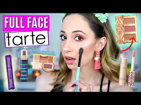 Testing Tarte Makeup Products – First Impressions, Review, Tutorial – Custom Beauty Kit 2019