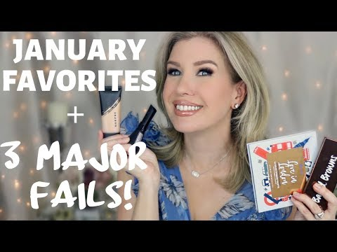 JANUARY FAVORITES AND FAILS 2019 | Monthly Beauty Favorites | Risa Does Makeup