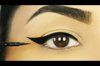 These 3 Easy WINGED EYELINERS FOR HOODED EYES are a must try!!