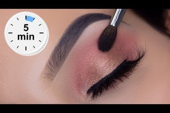5 MINUTE Eyelook Using ONLY 3 STEPS! | Super Easy Eye Makeup Tutorial
