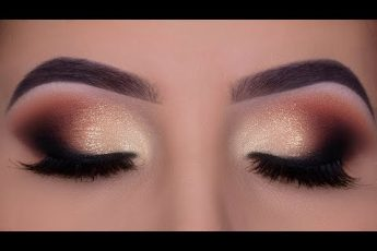 Smokey Glamorous Eye Makeup | Bridal Makeup Inspiration