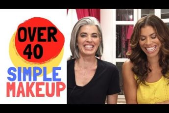 OVER 40 SIMPLE MAKEUP WITH GWENDOLYN OSBORNE-SMITH