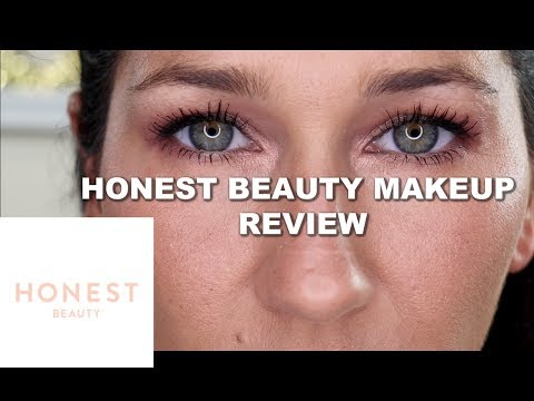 HONEST BEAUTY MAKEUP TRY ON REVIEW | JENNIES REVIEWS