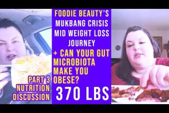 foodie beauty's mukbang crisis | nutrition discussion part.3