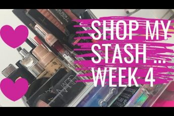 SHOP MY STASH #4 | Weekly makeup selection | Beauty Over 40
