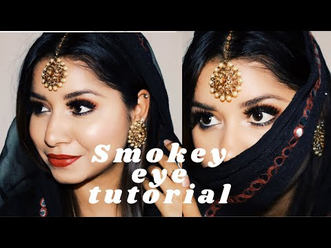 BLACK Smokey Eyes || BEAUTY || MAKEUP || TUTORIALS