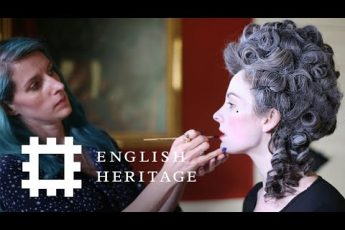 Georgian Makeup Tutorial   History Inspired   Feat. Amber Butchart and Rebecca Butterworth