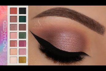 Wearable Halo Eyes using New Enchanted Palette Sigma Beauty | Melissa Samways