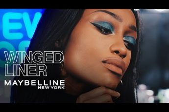 How To: Bold Winged Liner And Blue Eye Shadow | THE MAKEUP LOFT