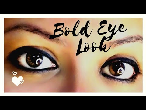 Thick Kajal – Bold eyes look-Kajal Basics-Kannada makeup tutorial