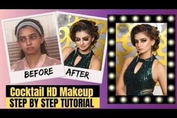 Cocktail Party Makeup With Black Smokey Eyes | HD Makeup | Ritesh Verma Artistry