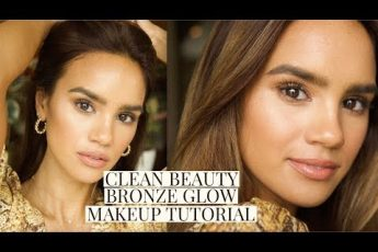 CLEAN BEAUTY BRONZE MAKEUP TUTORIAL! | DACEY CASH