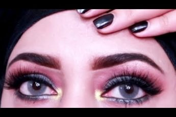 Wedding guest eyes makeup look || step by step makeup for begginers_zainab numan