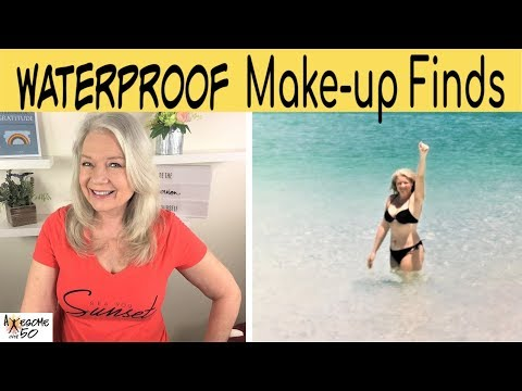 Waterproof Makeup Finds for Humid Summers in Foundations, Eye Make-up etc, Mature Women over 50