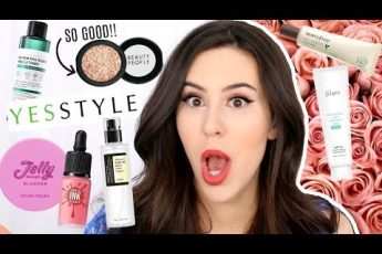 $500 OF KOREAN MAKEUP & SKINCARE FROM YESSTYLE    Beauty with Emily Fox