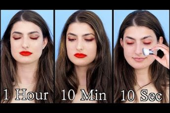 Doing My Makeup in 1 Hour, 10 Minutes, and 10 Seconds!