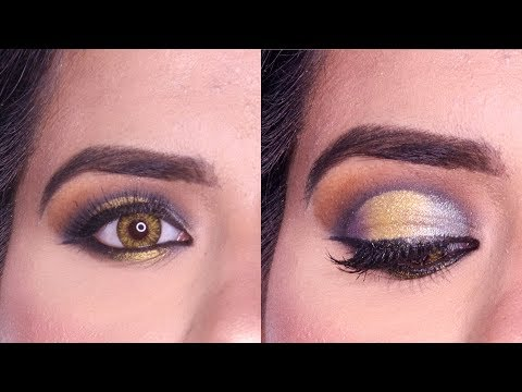 Halo Eye Shadow Makeup Tutorial Hooded and Small Eyes For Beginners-Cut Crease Halo Eye Makeup