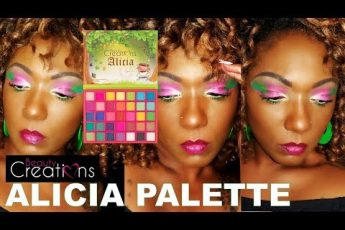 BEAUTY CREATIONS Alicia Palette – 1st Impression & Eye Look!!  Watermelon Vibes