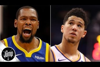 Kevin Durant tweets support of Devin Booker amid pick-up game double-team controversy | The Jump