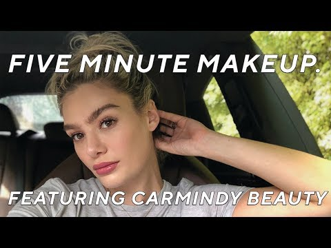 Five Minute Makeup Featuring Carmindy Beauty | The Sloane Series