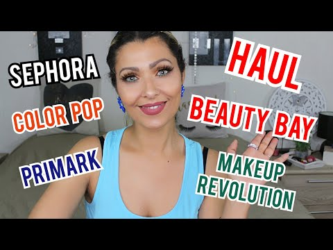 Haul Makeup fin des soldes et promos/Beauty Bay, Makeup Revolution, Sephora, Color Pop, Primark