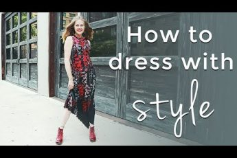 How to dress with style for women over 40 – style tips for women over 40