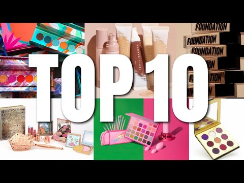 August Top 10 – New Release Makeup Recap
