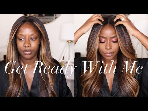 GET READY WITH ME | HAIR+MAKEUP+OUTFIT | HIGHLOWLUXXE