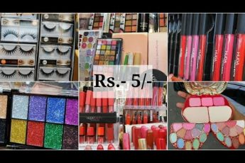 Cheapest Makeup Market in Kolkata || Huda Beauty, Mars, Swiss Beauty, Olivia || Hatibagan Market