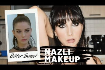 Bitter Sweet Ingredienti D'Amore – Nazli Black Smokie Eyes Makeup Inspired || Sunshine Beauty