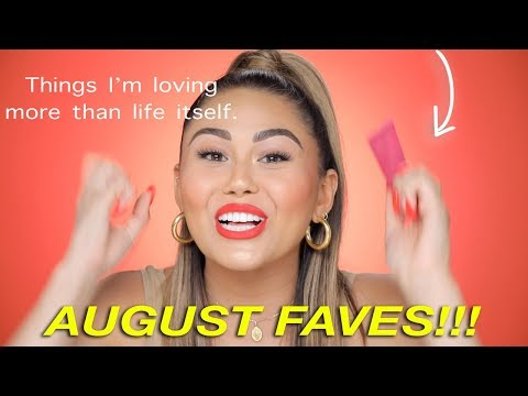 AUGUST BEAUTY FAVORITES 2019: Makeup, skincare & hair! Roxette Arisa