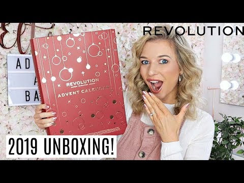 REVOLUTION BEAUTY ADVENT CALENDAR 2019! / *AFFORDABLE MAKEUP ADVENT CALENDAR*
