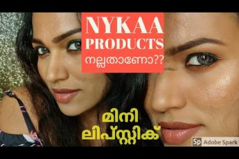 അങ്ങനെ ഒരു Full face of makeup using Nykaa products! Green eyes makeup|മലയാളം ||Malayali youtuber||