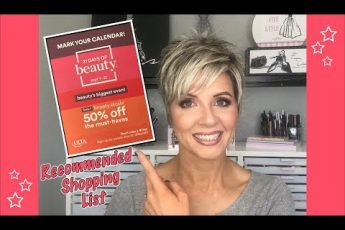 Ulta 21 Days of Beauty Sale Recommendations – Fall 2019