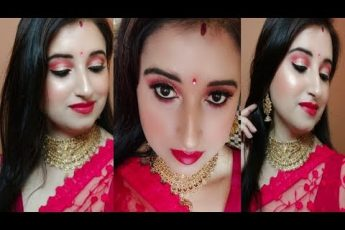 How To Do Makeup for Newly Married Brides| Dulhan Makeup Tutorial | Beautiful U