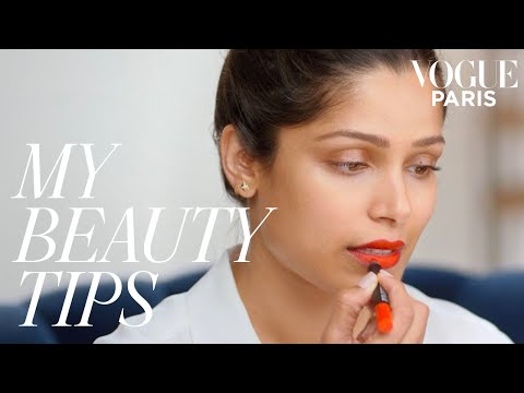 Freida Pinto's red carpet makeup | My Beauty Tips