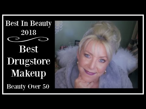 BEST DRUGSTORE MAKEUP OF 2018 ~ Women Over 50++