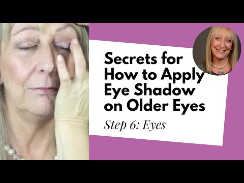 Makeup Over 60 | Step 6: Eyes – Secrets for how to apply eye shadow on older eyes