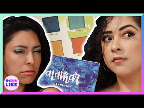 Latinas Try Latina-Owned Makeup Brands: Alamar Cosmetics & Golden Dream Beauty
